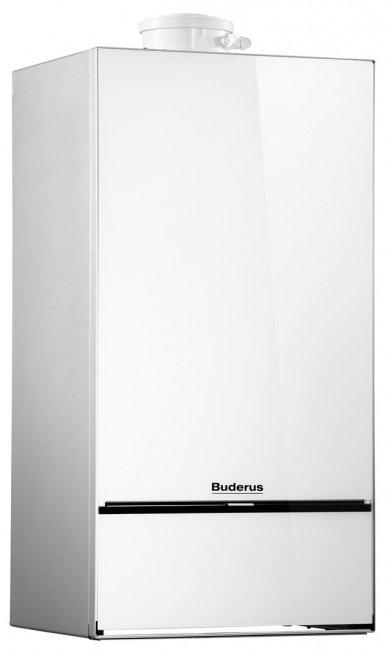 Конденсационный газовый котёл Buderus Logamax plus GB172i-24 (белый)