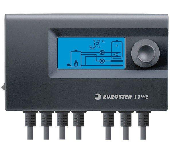 Контроллер Euroster 11WB + вентилятор RV-14 RK
