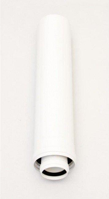 Коаксиальное удлинение дымохода 500 мм 60/100 PP Ariston (3318078)