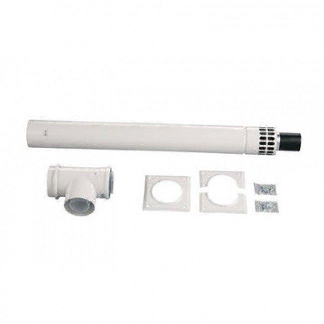Комплект коаксиального дымохода 335-530 мм 80/125 PP Bosch (AZB 600/3)