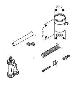 Конденсатоотводчик d80 Bosch (AZ 386)