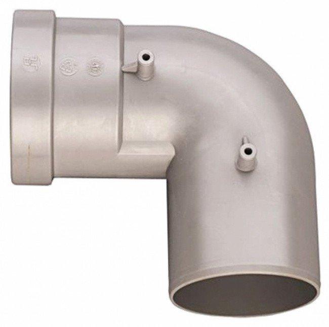 Угол дымохода 90 градусов d80 Bosch (AZ 381)