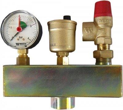 Группа безопасности котла Watts KSG 30/ISO2 до 50 кВт
