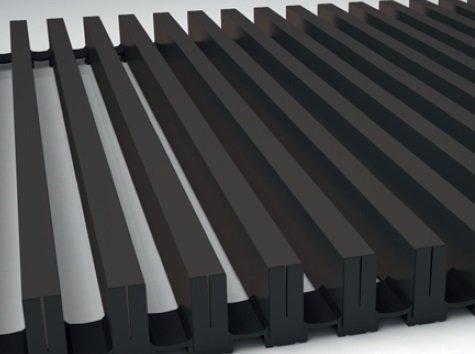 Алюминиевая решетка Koraflex 16/100