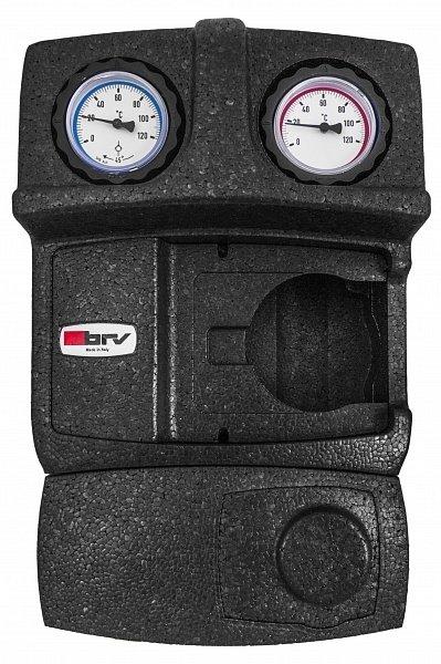"""Насосная группа BRV 1"""" 21358N-F3 с термостатическим клапаном F3 (20-45 C), без насоса, с перепускным клапаном"""