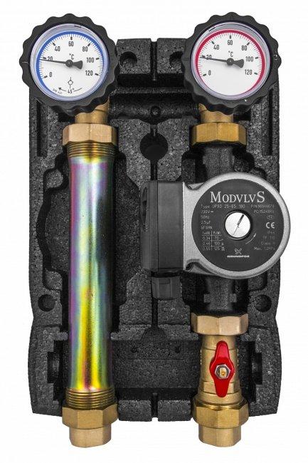 """Насосная группа BRV 1"""" 21355N-G60 c насосом Grundfos UPSO 25-65"""