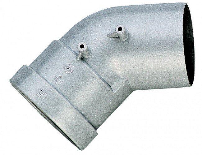 Угол дымохода 45 градусов d80 Bosch (AZ 382)