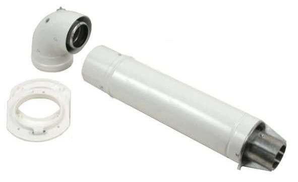Комплект коаксиального дымохода 810 мм 60/100 Bosch (AZ 389)