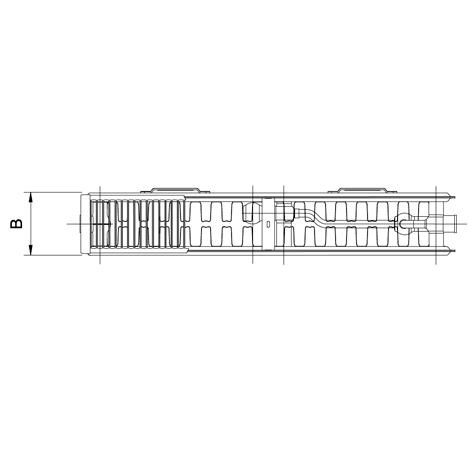 Стальной радиатор Korado 33VKM8 4002600