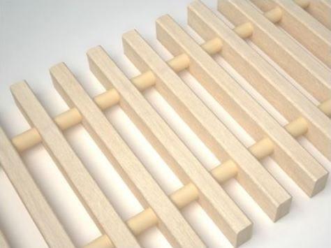 Деревянная решетка Koraflex 20/120 (цвет: бук, дуб)