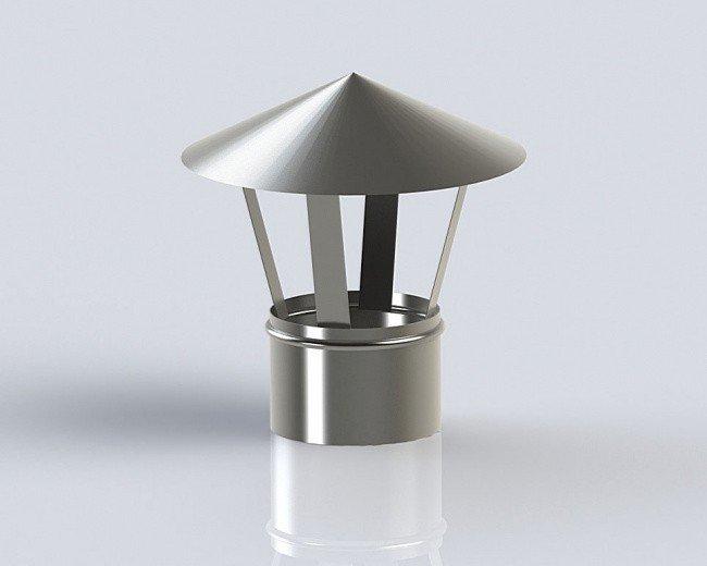 Грибок (160-0.5) дымохода из нержавеющей стали