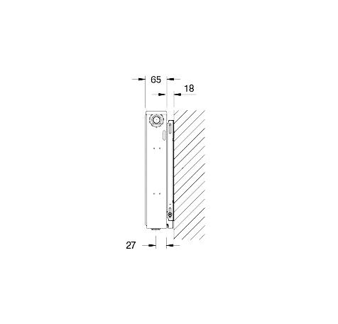 Стальной радиатор Buderus Logatrend 11C 500900