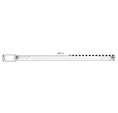Стальной радиатор Engel БП 10 500x2600