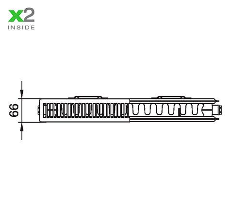 Стальной радиатор Kermi PKO 120516