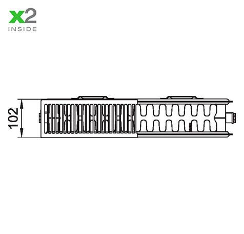 Стальной радиатор Kermi PKO 220520
