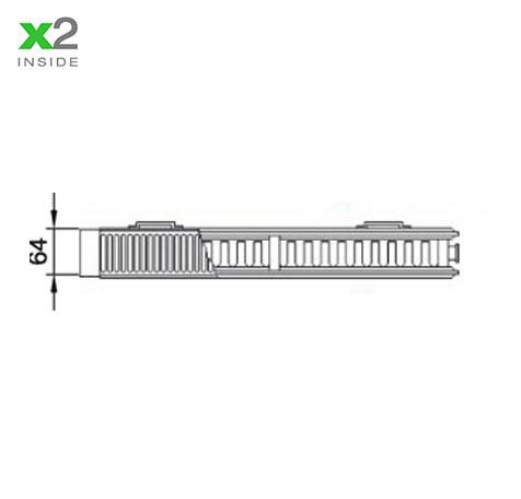 Стальной радиатор Kermi PLK 120920