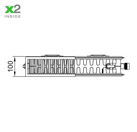 Стальной радиатор Kermi PLV 220430