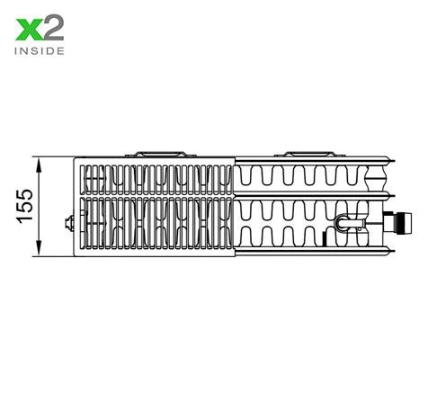Стальной радиатор Kermi PLV 330318