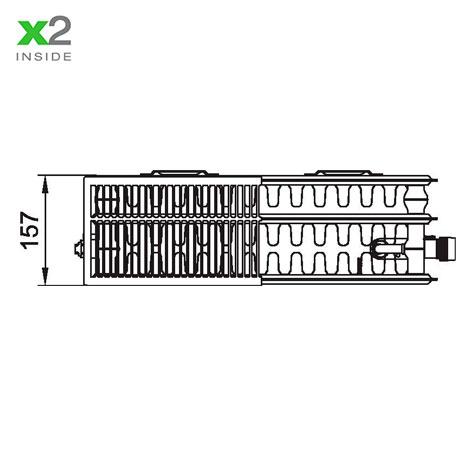 Стальной радиатор Kermi PTV 330923