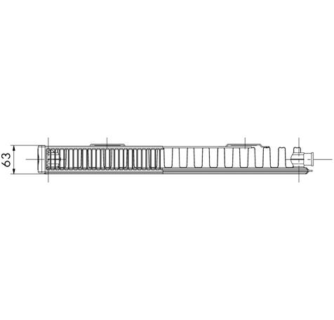 Стальной радиатор Korado 11K 900700