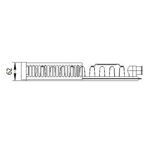 Стальной радиатор LEMAX Valve Compact 11x500x700