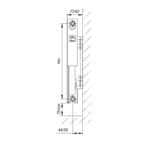 Стальной радиатор LEMAX Compact 11x300x1200