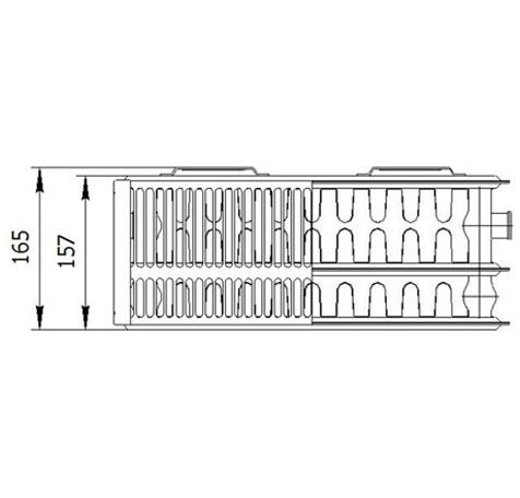 Стальной радиатор LEMAX Compact 33x300x500