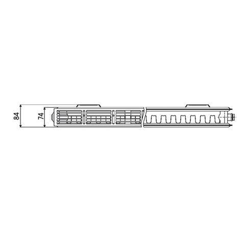 Стальной радиатор PRADO Universal 213001800