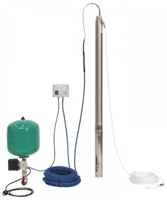 Скважинный насос Wilo Sub TWU 3-0123-EM-PnP/DS (комплект)