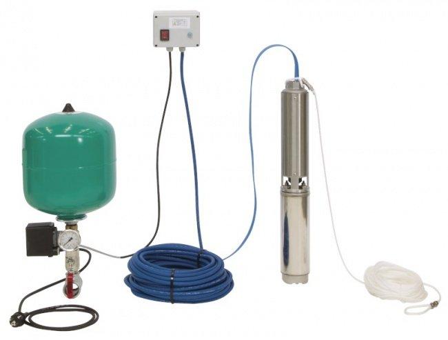 Скважинный насос Wilo Sub TWU 4-0407-EM-C-PnP/DS (комплект)