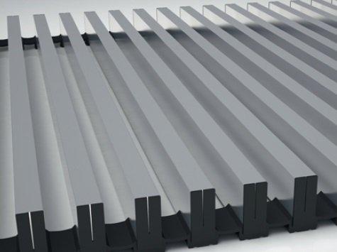 Алюминиевая решетка Koraflex 34/200