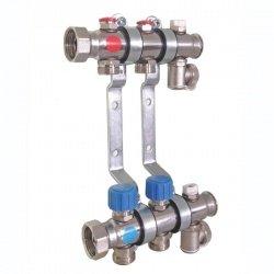 Гребёнка для отопления TECE 340156 с термоклапанами