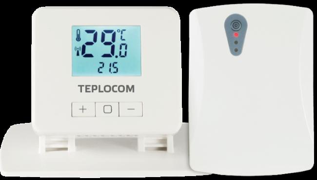 Терморегулятор Teplocom TS-2AA/3A-RF