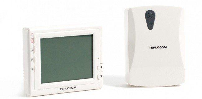 Терморегулятор Teplocom TS-Prog-2AA/3A-RF