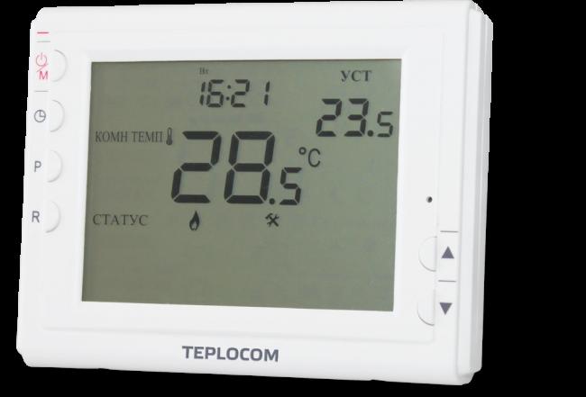 Терморегулятор Teplocom TS-Prog-2AA/8A