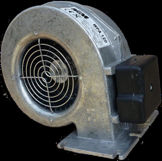 Вентилятор наддува WPA-120 (для котлов 26-50 кВт)